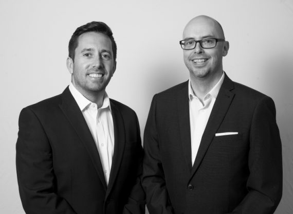 Jason and James Mortgage advisers